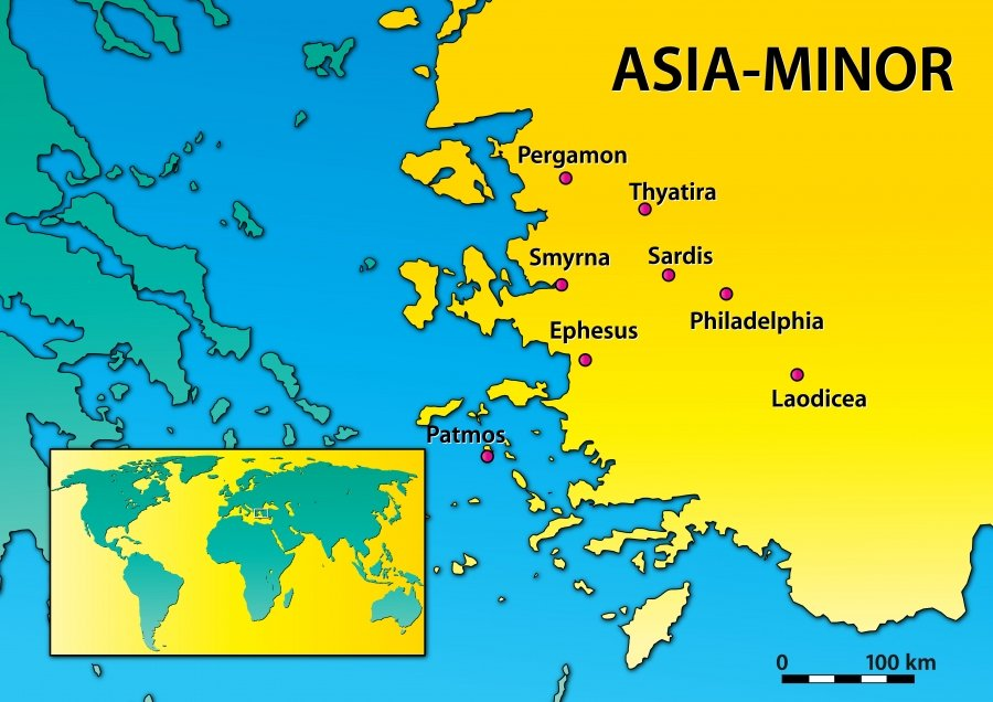 Seven churches of Asia Minor